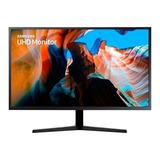 Monitor Samsung U32j590uq Led 31.5  Azul Oscuro/gris 110v/220v