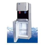 Dispenser De Agua Frío/calor Silver Con Heladera  A Red