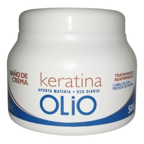 Kit Olio Shampoo Acondicionador Bano De Crema Keratina Pelo