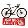Bicicletas Mountain Mega 29 Env S/cargo Alum Shimano Disco!!