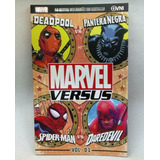 Marvel Vs Nº 01 Deadpool / Pantera Negra Spiderman / Darevil