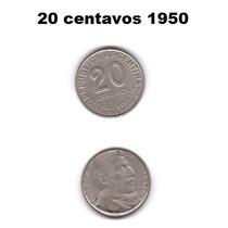 Moneda 20 Centavos 1950
