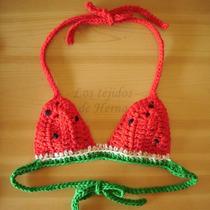 Tejido Cristóbal San Crochet Bikini Venta Regalo Sandía En TJlF1Kc