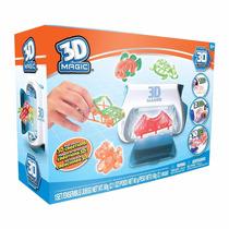 3d Magic Maker Fabrica De Figuras 3d Original Intek T V