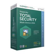 Kaspersky Total Security 2016 Multidispositivos 3dispx1año