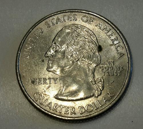 Moneda De Cuarto De Dolar Conmemorativa De Oregon (a25)