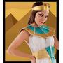 Disfraz Sexy Cleopatra Vestido Cinto Y Tocado
