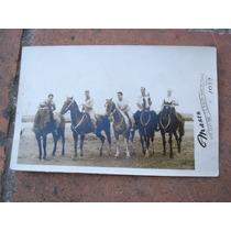 Foto-postal Masis Mar Del Plata Caballos 1952