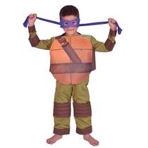 Disfraz De Donatello Tortuga Ninja En Talle 1 Delicias3