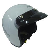 Casco Vertigo Basic Abierto Nacional Con Visera Moto Delta