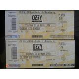 Entradas Para Ozzy Osbourne