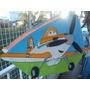 Piñata Infantil En Goma Eva Aviones De Disney, Angry Birds,