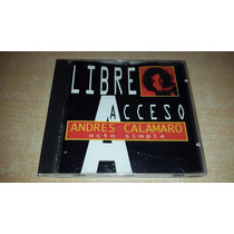 Andres Calamaro - Libre Acceso Acto Simple Excelente Estado