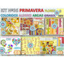 1 Kit Imprimible X 8 Sets Primavera Flores P/ Decoracion Int