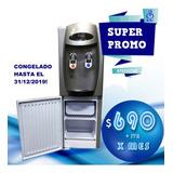 Alquiler Mensual Dispenser Agua Frio/calor A Red C/heladera