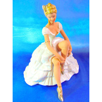 El Arcon Gran Figura De Porcelana Leonardo Bailarina 5107