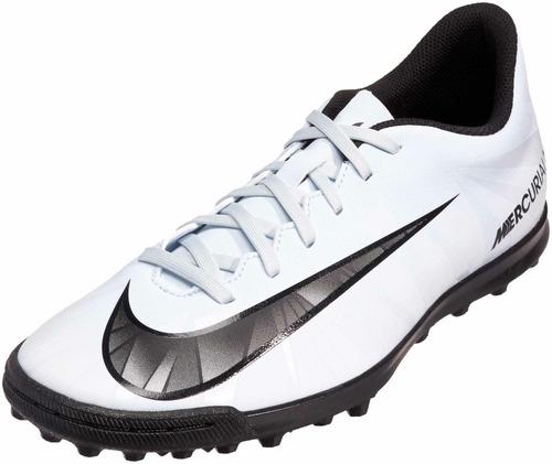 1a06777be Botines Nike Mercurialx Vortex 3 Cr7 Tf Papi Futbol 5 Oferta