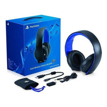 Auriculares Headset Gold Wireless Sony Ps4 Ps3 Vita Pc Mac