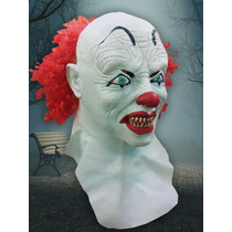Mascara Latex Terror Payaso It Disfraz Halloween Cosplay