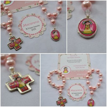 Denarios Souvenirs Virgencitas Porfis X 10