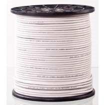 Cable Coaxial Rg6 Blanco Bobina De 305 Mts