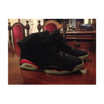 Jordan Air 6 Black Red Infrared Luminous - En La Plata