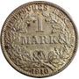 Chinacoins / Imperio Alemán 1 Mark 1910 Plata Km#14 Berlín