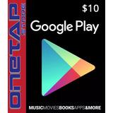 Tarjeta Google Play Store 10 Usd Usa - Onetap Store