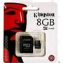 Tarjeta De Memoria Micro Sd 8gb Kingston 2 En 1