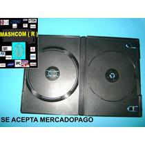 Cajas Dobles De 14 Mm Para Dvd