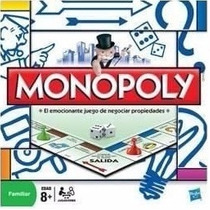 Monopoly Familiar Juego Finanzas Mas Famoso Hasbro Palermo