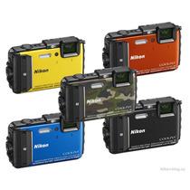Nikon Aw130 16mpx 5x Sumergible Wifi Gps 3
