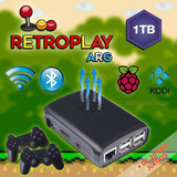 Consola Juegos Retroplay 1tb. 2 Joy A Cable, Arcade Mini