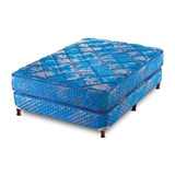 Sommier Piero Continental King 200x180cm Azul