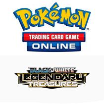 10 Códigos Pokémon Tcg Online Packs B&w Legendary Treasures