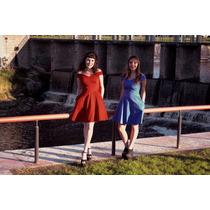 Vestido Las Oreiro Pin-up 35% Off