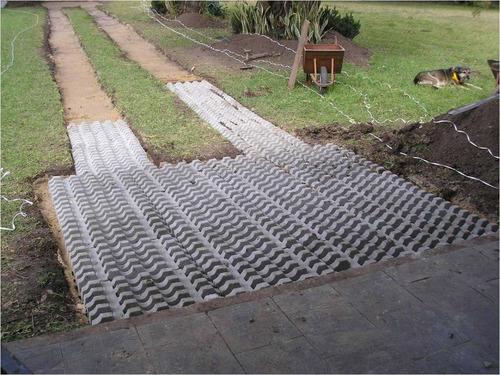 bloques de cemento para c sped gardenbloc lajas y