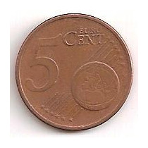 Alemania 5 Centavos De Euro 2002