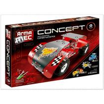 Armamec Concept 8 Tipo Mecano De 230 Piezas C/herramientas
