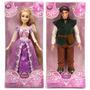 Princesa Rapunzel Y Flynn Original Disney Store Articulados