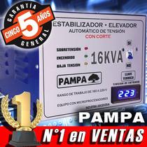 Elevador Automático De Tensión 16 Kva Pampa Estabilizador