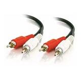 Cable 1,5 Metros Rca Rca De Audio / Video Mono Macho