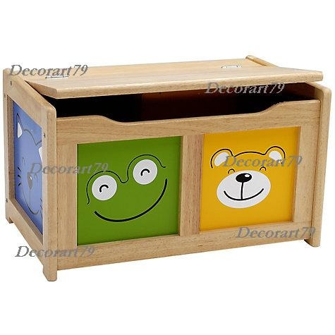 Baules infantiles baules guarda juguetes 70x50x40 - Guarda juguetes madera ...
