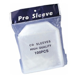 Sobres De Pvc Pro Sleeve Cd O Dvd X100  100 Micrones Importa