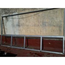 Gran Ventanal Aluminio C/ventanas Fijas Y Hojas Corredizas