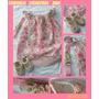 Conjunto Para Bebé (vestido+zapatos+vincha)