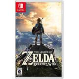 Zelda Breath Of The Wild Juego Físico Nintendo Switch