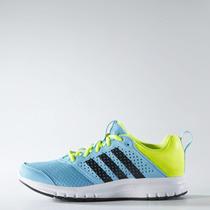 Zapatillas Adidas Running Madoru Mujer Celeste/fluo