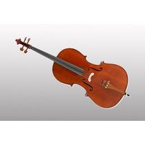 Violoncello 4/4 Stradella Mc601144 Tapa Pino + Arco Y Funda