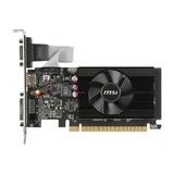 Placa De Video Msi Geforce 700 Series Gt 710 2gd3 Lp 2gb